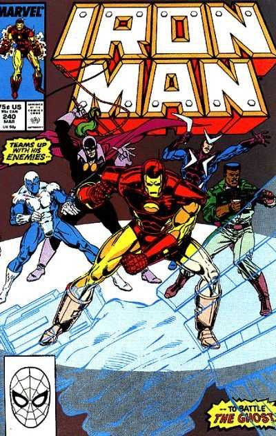 Iron Man #240 (1st Series)