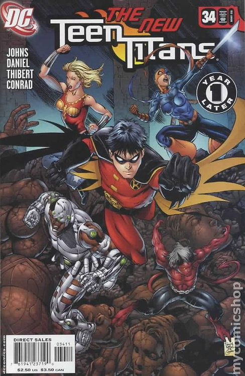 Teen Titans #34 Cover A