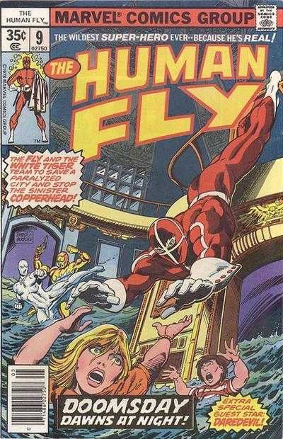 Human Fly #9 (1977)