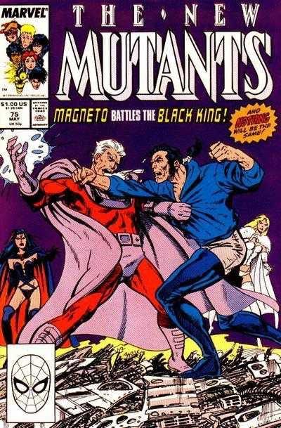 The New Mutants #75