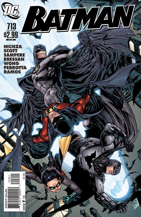 Batman #713 (ROBIN flashbacks)
