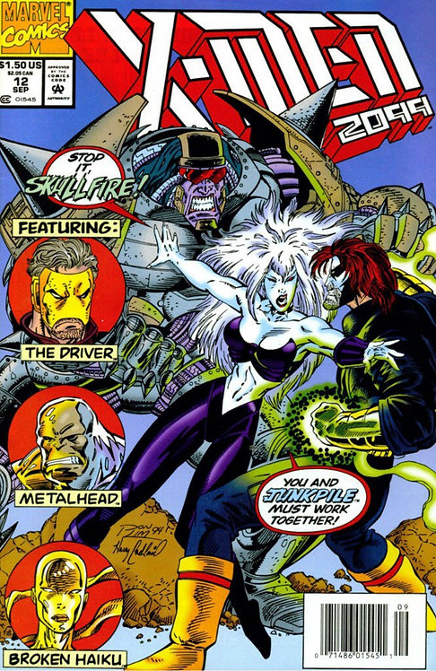 X-Men 2099 #12