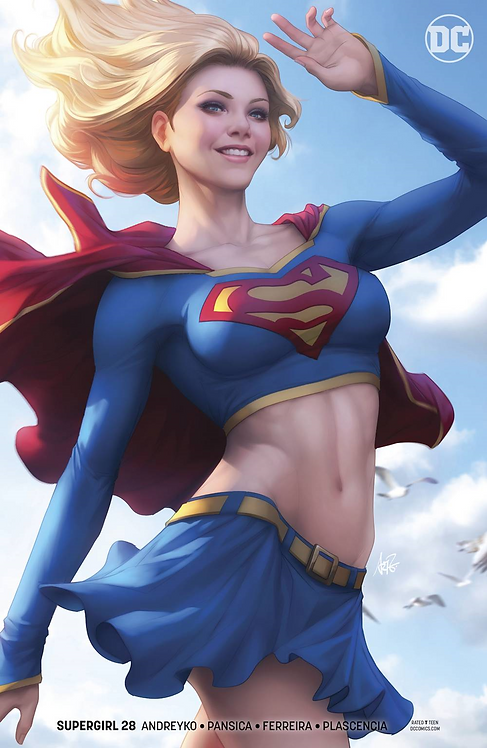 Supergirl #28 Cover B Variant