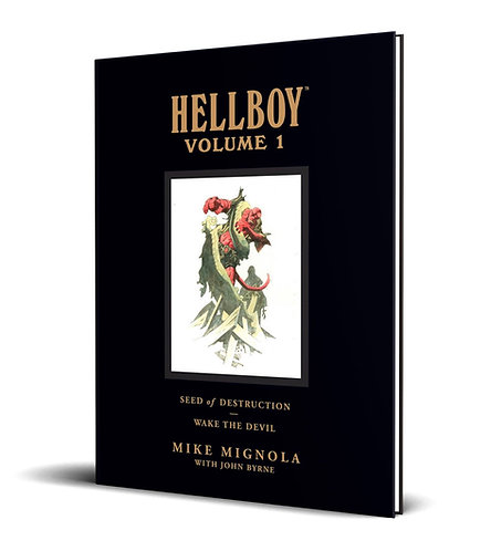 Hellboy. Vol.1 Seed Of Destruction & Wake The Devil HC Library Edition