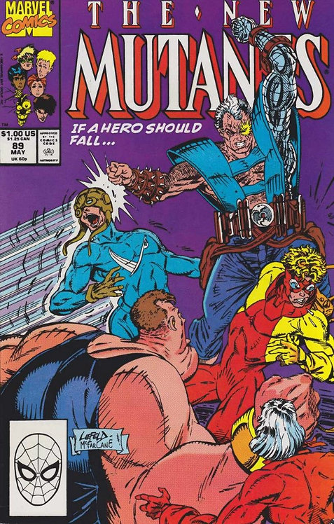 The New Mutants #89 (3rd App of Cable) (VFN Grade)