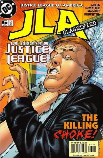 Justice League of America #5 (2011/JLA)