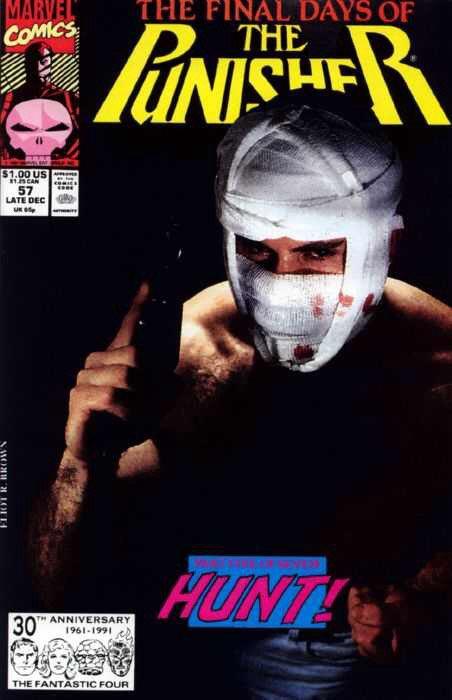 Punisher #57B MJ (2nd Series) Mark Jewelers