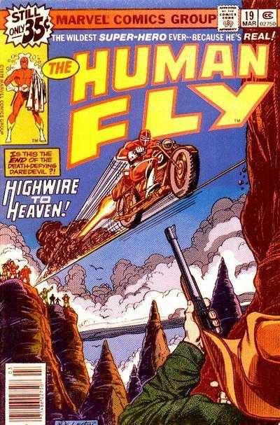 Human Fly #19 (1979)