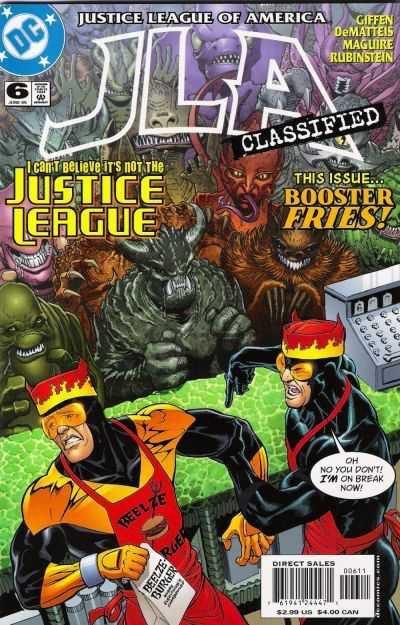 Justice League of America #6 (2011/JLA)