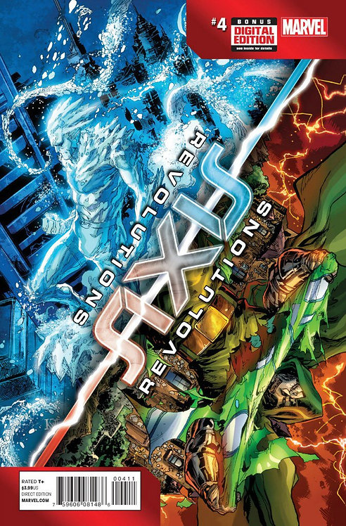Avengers and X-Man Axis: Revolutions #4