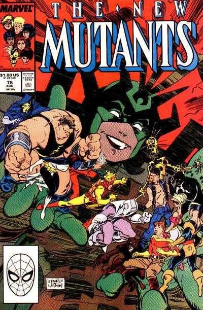 The New Mutants #78