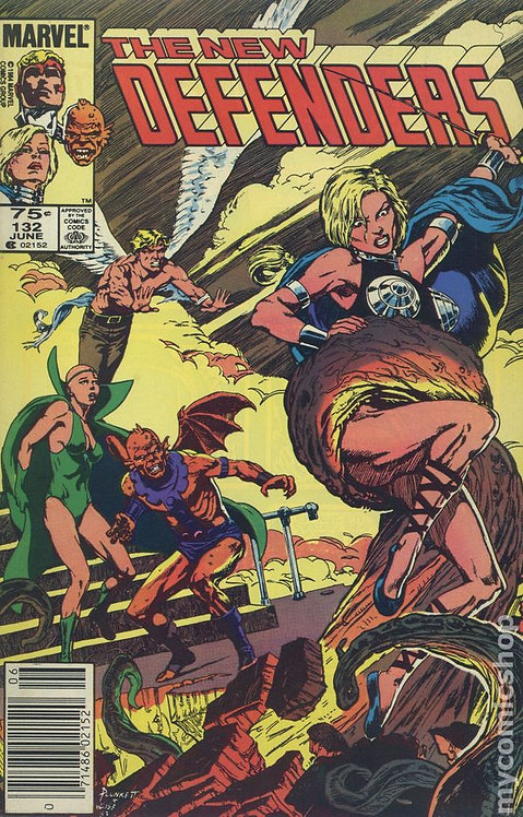 The New Defenders #132 (1972/1st series)