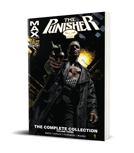 Punisher Max Vol.3 TPB Complete Collection