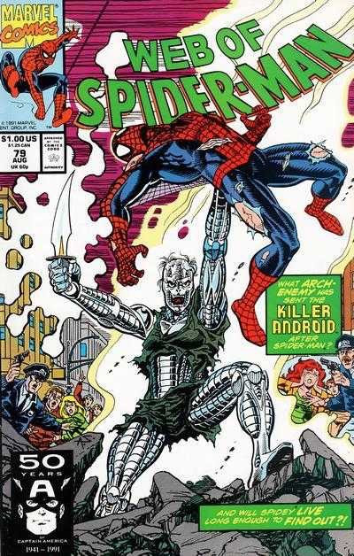 Web of Spider-Man #79