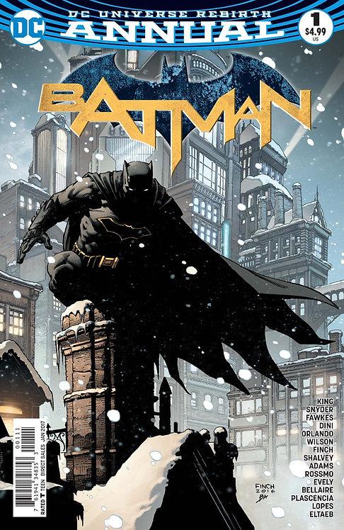 Batman Rebirth. Annual #1 2017 (First Print)