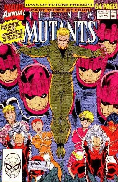 The New Mutants Annual #6 (1st App of Shatterstar)
