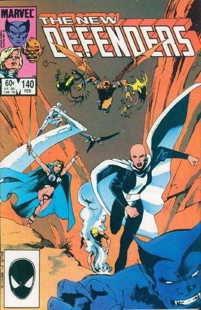 The New Defenders #140 (1972/1st series) Canadian Price Variant