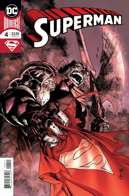 Superman #4 Foil Cover A Variant