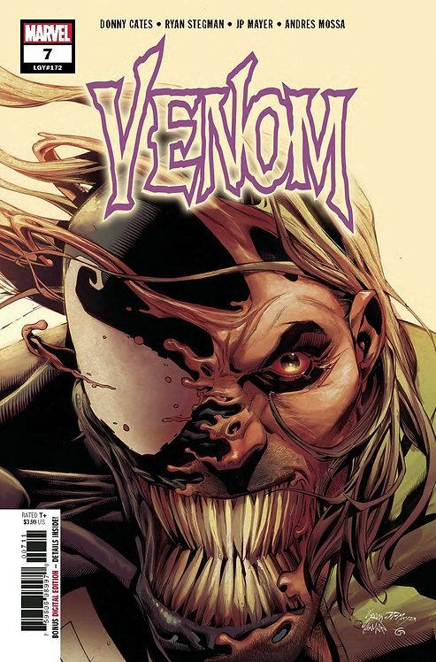 Venom #7 Stegman Cover Variant (1st App Dylan Brock Eddie's son)