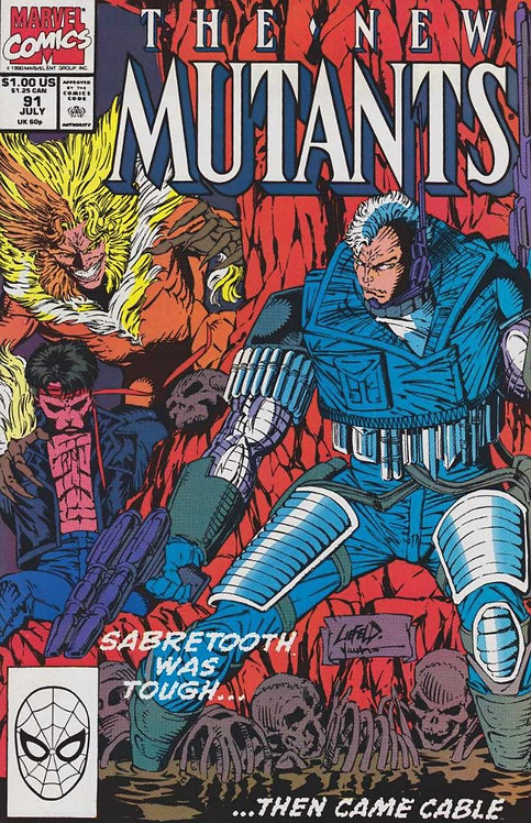 The New Mutants #91