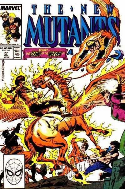 The New Mutants #77