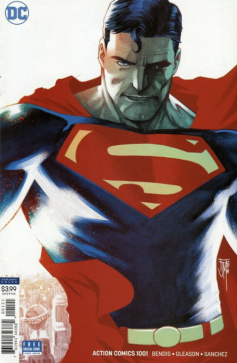 Action Comics #1001 Francis Manapul Variant Cover (2018)