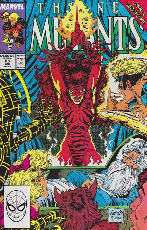 The New Mutants #85