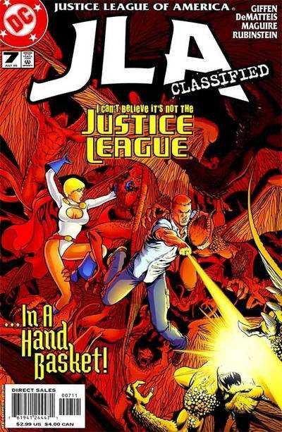 Justice League of America #7 (2011/JLA)