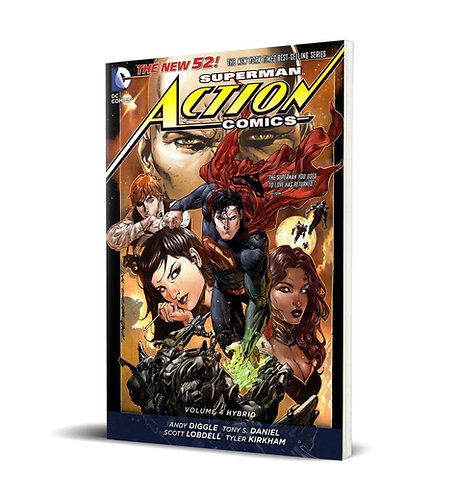 Superman - Action Comics. Hybrid Vol.4 TPB (The New 52)