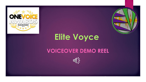 Elite Voyce Audio Demo Reels