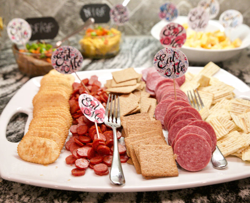 Appetizers at Olivia's Party