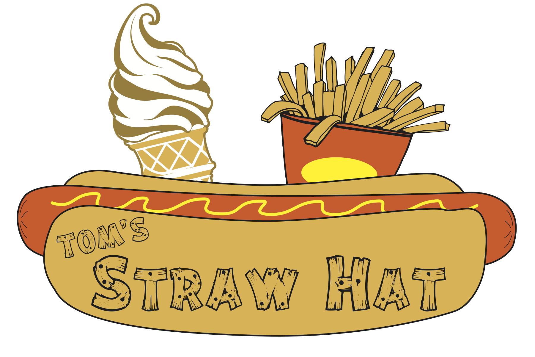 Tom's Straw Hat Logo