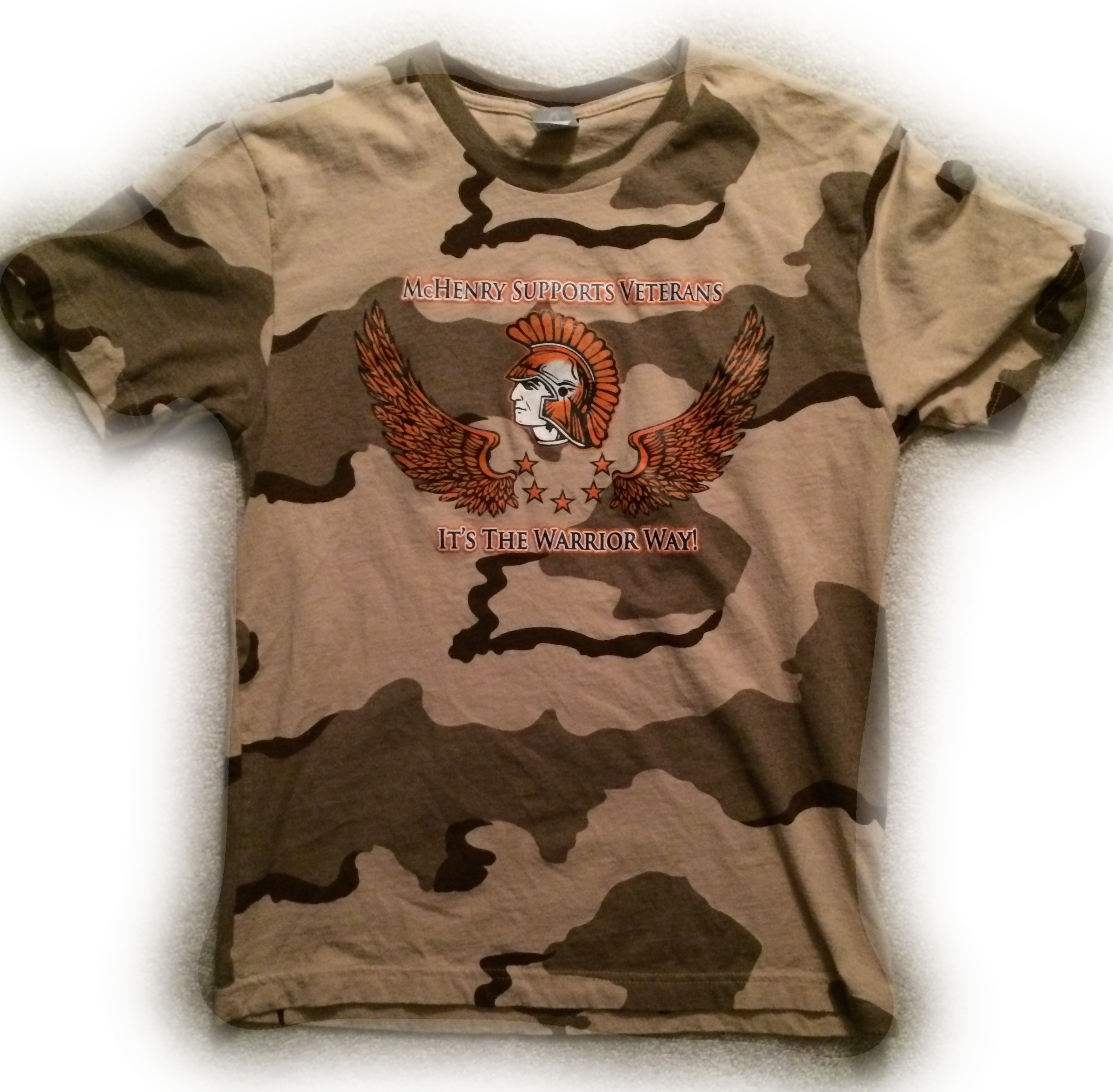 McHenry Supports Veterans T-Shirt