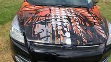 Drivers Ed Car Wrap 2019