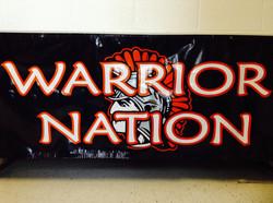 Warrior Nation Banner