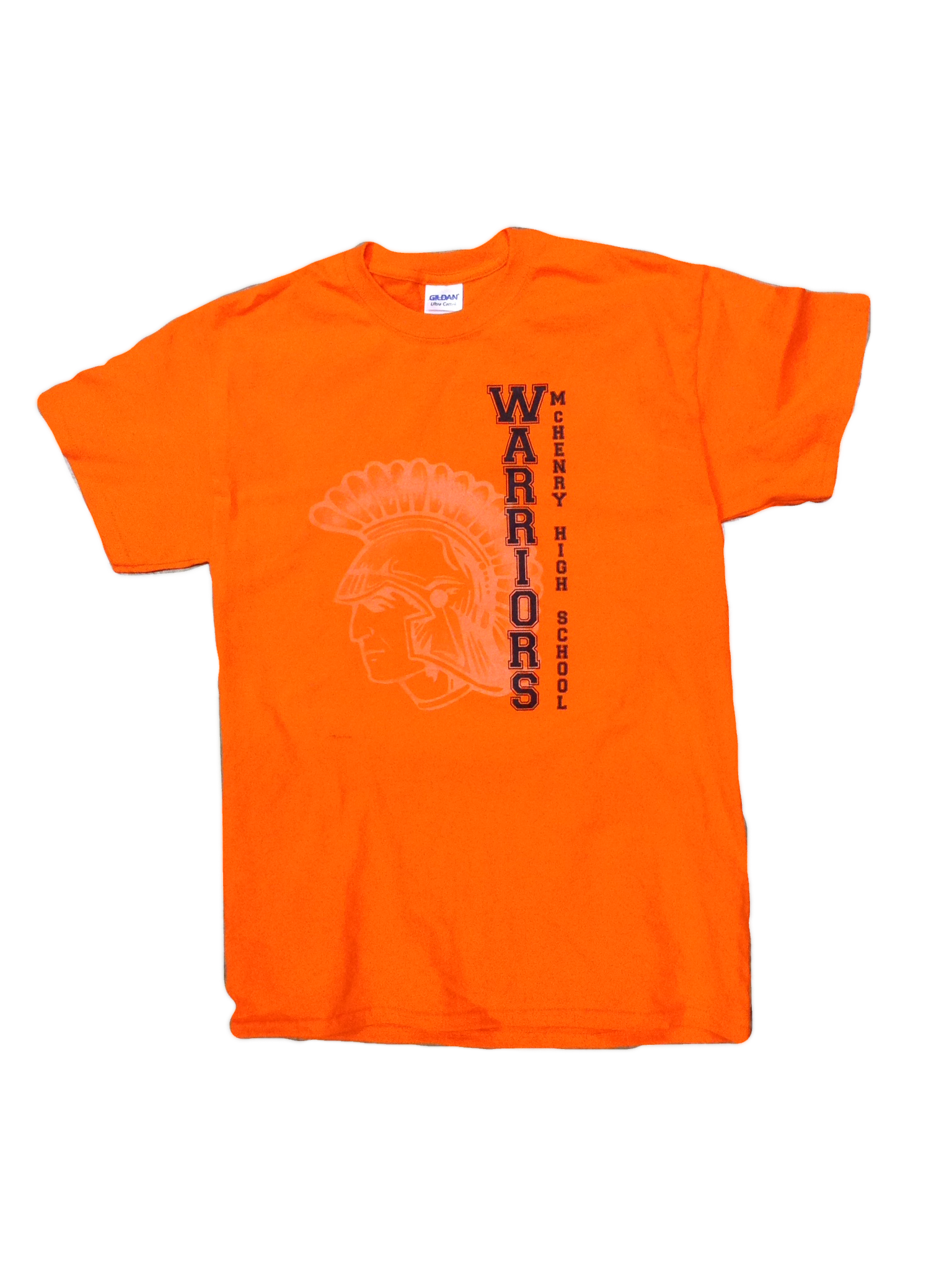 Warrior Orange Shirt