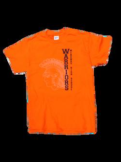 Warrior Orange Shirt