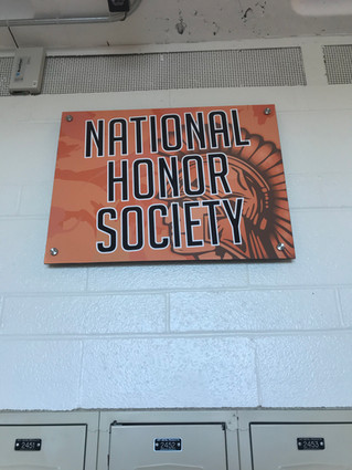 Student Activities Signs