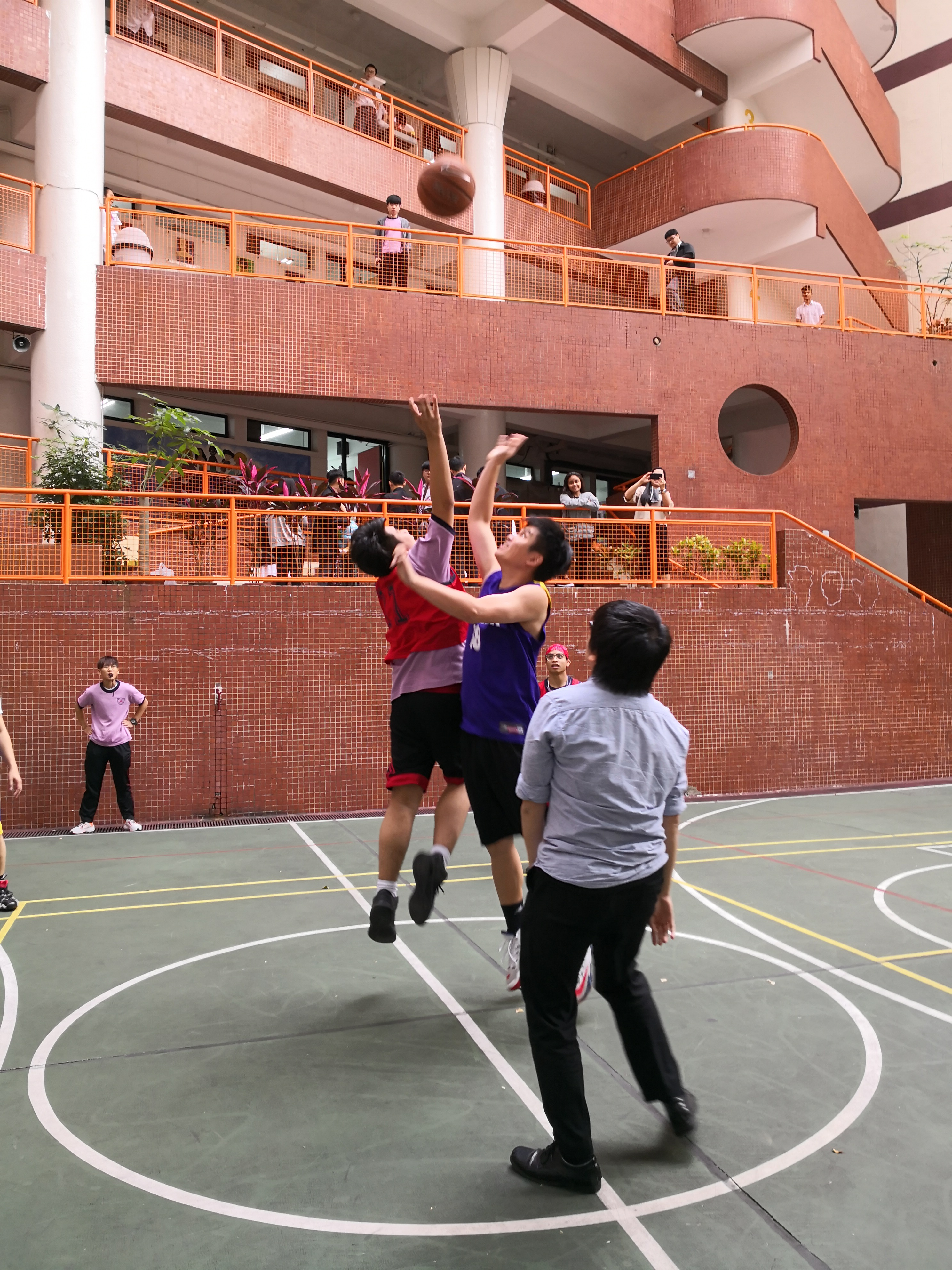 Teacher-Student Basketball Competition