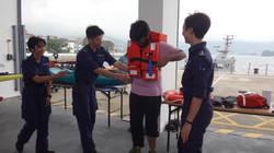 Visiting HK Sai Kung Marine Police East Station