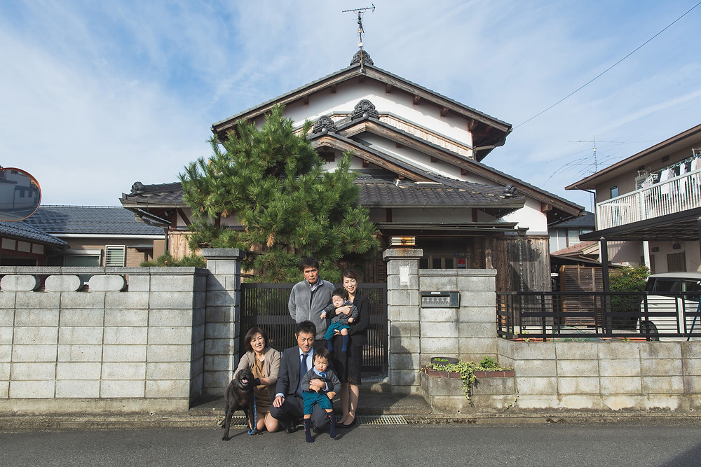 滋賀県東近江市の太郎坊宮で七五三お参り出張撮影