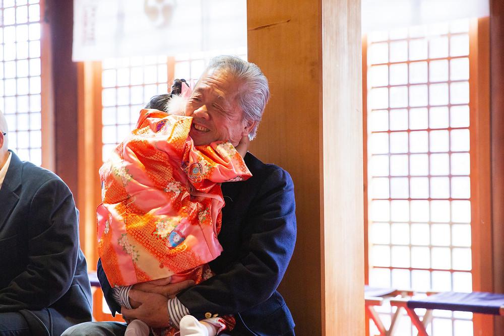 滋賀県長浜市のフォトスタジオと長浜八幡宮で七五三撮影