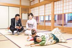 滋賀県稲村神社で七五三撮影