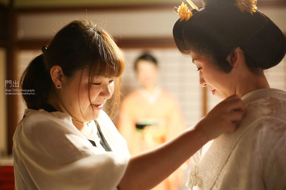 滋賀県長浜市の木之本で結婚式撮影