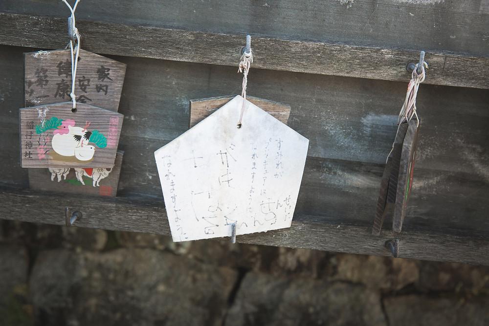 滋賀県彦根市の稲村神社でフリーカメラマンが7歳の女の子の七五三撮影をしました。