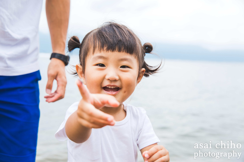 滋賀県守山市での家族写真撮影