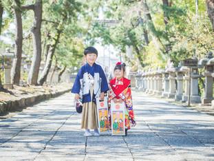 七五三おめでとう | 長浜八幡宮 | 滋賀県長浜市へ出張撮影