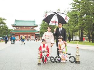 七五三おめでとう | 平安神宮 | 京都市左京区