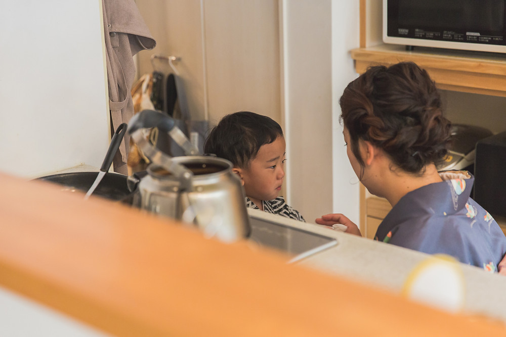 滋賀県彦根市のご自宅と犬上郡多賀町の多賀大社で兄弟さんの七五三撮影