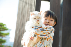 高島市で6歳のお誕生日撮影